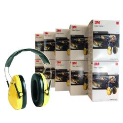 10 x Casque anti bruit Peltor Optime I